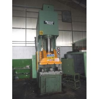 EMANUEL PRESSE MI 160 swan neck c-frame hydraulic press