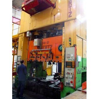 SPIERTZ F4E40x2,7 Double sided mechanical press