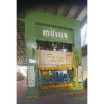 FRITZ MULLER ZE 500 28.1 Pressa oleodinamica a doppio montante
