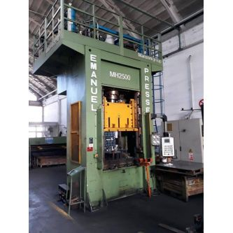 EMANUEL MH 2500 H frame double side uprights hydraulic press