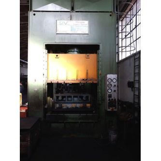 EMANUEL DEA 350 Pressa oleodinamica a doppio montante H frame
