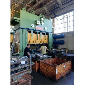 RADAELLI DELFINO Pressa meccanica a doppio montante H frame