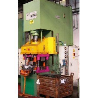Swan neck c-frame hydraulic press EMANUEL PRESSE MI160