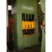 Straight sided double action hydraulic press EMANUEL DEA 100/1000