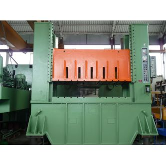 Double straight sided uprights double action hydraulic press SIV EMANUEL SEM.P