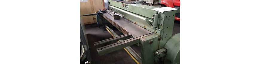Mechanical guillotine shears