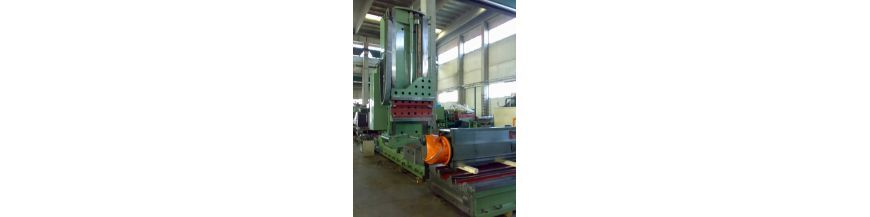 Mobile column milling machines