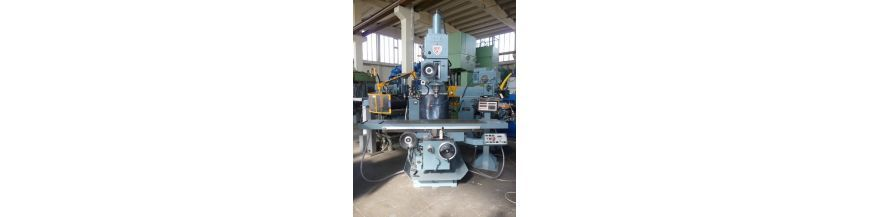 Vertical knee type milling machines