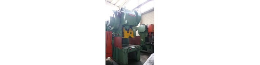 Mechanical swan neck c-frame presses