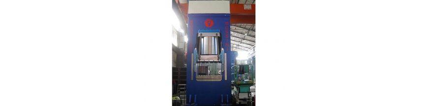 Hydraulic gantry type presses