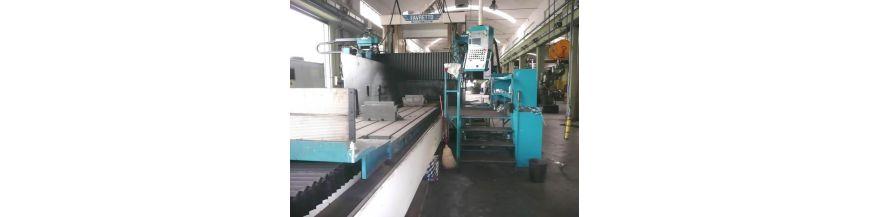Gantry type grinding machines