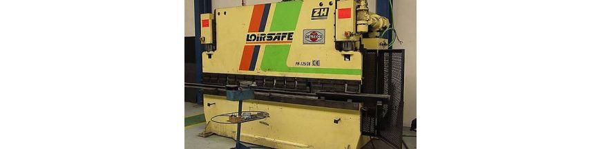 Hydraulic bending machine presses
