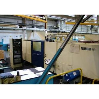 Roll grinding machine SCHAUDT PF5N2500