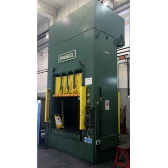 EMANUEL DEA 320-1600-60 Straight sided uprights hydraulic press