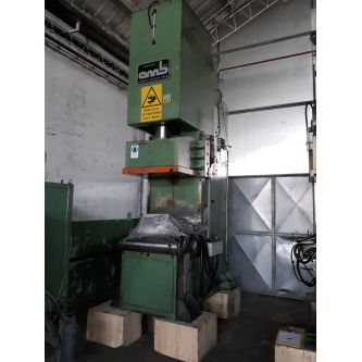 OMB 100 TON C-frame swan neck hydraulic press