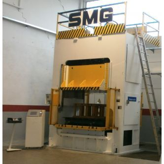 Double sided uprights hydraulic press SMG 160TON