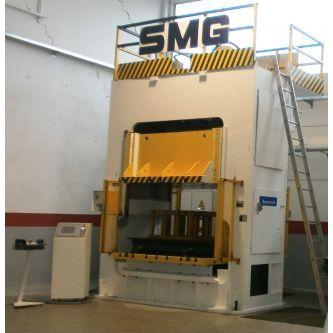 Pressa oleodinamica a doppio montante SMG 160TON